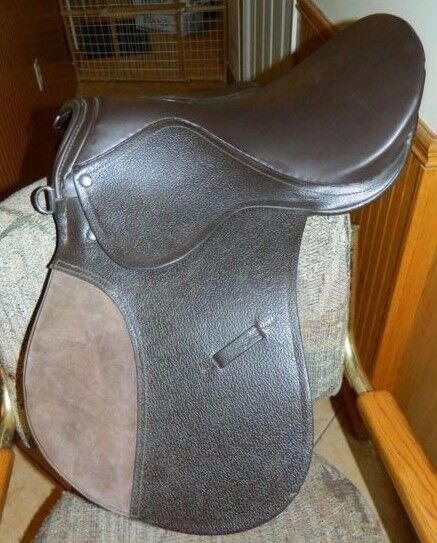 All Purpose 16  English Riding Saddle Padded Flap New Never Been Used