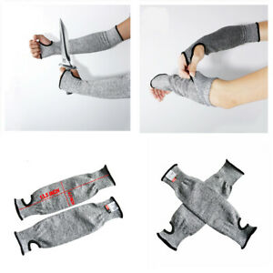 Safety Arm Outdoor Work Guard Sleeve Anti-cutting Protective Cut-Resistant Glove