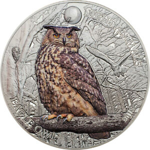 2018-5-Night-Animals-Eagle-Owl-1oz-Silver-Black-Proof-Coin