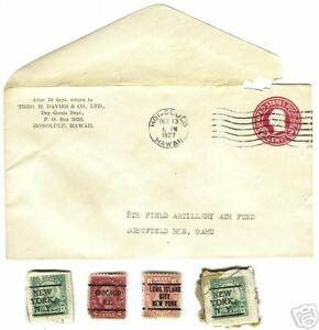 1927-WASHINGTON-STAMP-COVER-ENVELOPE-WRAPPER-TWO-CENT