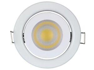Blanc Sur Lampe 5 230 V Led W Neutre Gu10 Encastrable Détails Plafonnier Spot bygf76