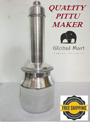 Easy use Large Traditional Puttu Kudum Pittu Maker stainless steel Puttu