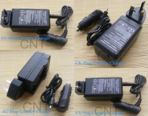 Cargador para Fujifilm X-T2 Sin Espejo Cámara Digital 2x NP-W126 Batería