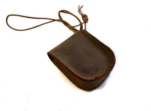 Sahara Desert Brown Leather and Brass Multi-Strand Cuff