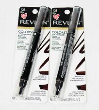 2 Revlon Colorstay 2 in 1 Angled Kajal WATERPROOF Eyeliner #102 FIG