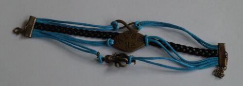 Armband Wickelarmband Freundschaftsarmband Armbänder Bettelarmband Kunstleder