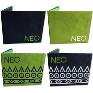 Adidas-Neo-papel-doblado-de-papel-Cartera-Slim-Moda-tarjeta-de-credito-paso-titular-Funda