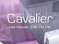 Cooler Master Cavalier Computer Case Cav-t04-uwa