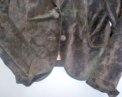 Medium 2 Brown Juni Button Suede Blazer FOxwqv6vB