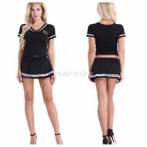 ec3d058ae945d3 Sexy Damen Dessous Sailor Outfit Cheerleader Uniform Cosplay Kostüm ...