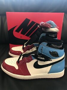 SHIP-NOW-Nike-Air-Jordan-1-Retro-High-OG-Fearless-UNC-Chicago-8-14-CK5666-100