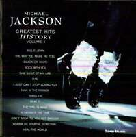 Michael Jackson - Greatest Hits History Vol. 1 CD EPIC