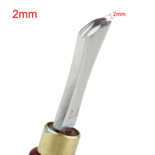 Leather Edge Creasing Tool Polished Finish Press Edge Marking Creaser Tool DIY E