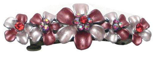 Bella Crystal Flower Barrette Hair Clip For Girls GL86400-10
