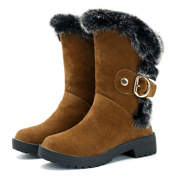 US Taille 5-12 femmes Mid-Calf bottes
