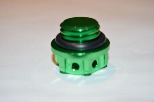 OIL FILLER CAP CNC GREEN YAMAHA DT125R MT-09 MT-125 RD125LC RD250LC RD350LC