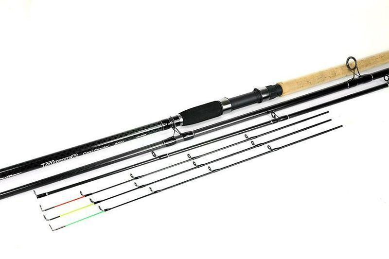 Feeder Fishing Rod 3.3m 129' Carbon Ground Method 3 Sensitive tops