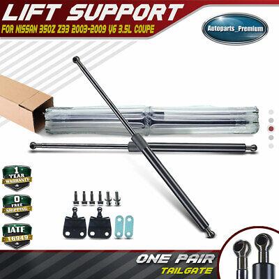 Brand New Set Of Rear Hatchback Lift Support Struts For 03-09 Nissan 350Z