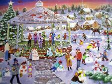 """New 300 Piece Sandy Rusinco Art Puzzle """"Winter Memories"""" Large Format 18""""x24"""""""