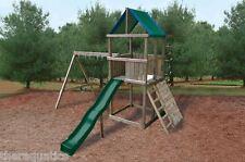 Swing-N-Slide Green Blue Replacement Tarp Roof Shade Playground Plastic Swingset