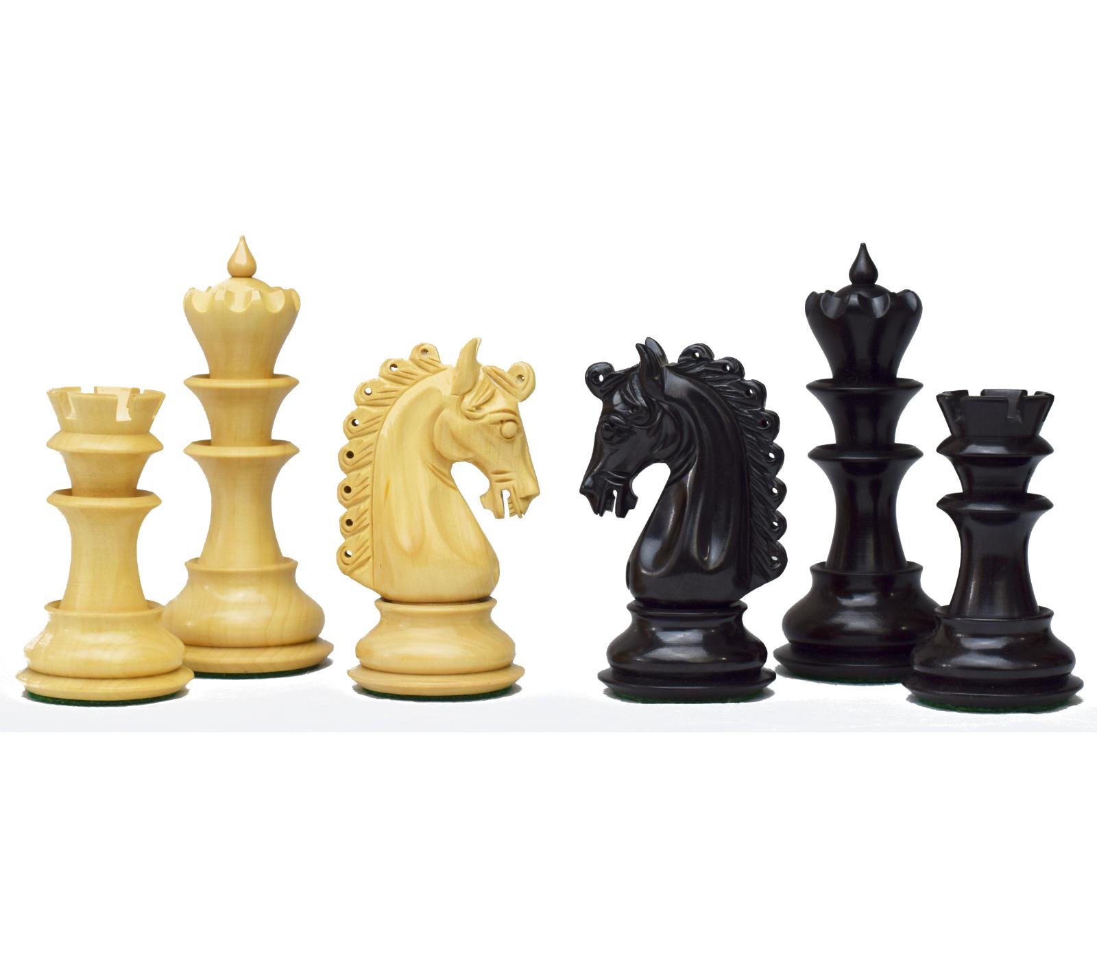 ROOGU The Roman Empire 4.7'' XL Luxury Chess Pieces Figure Set Storage Suitcase