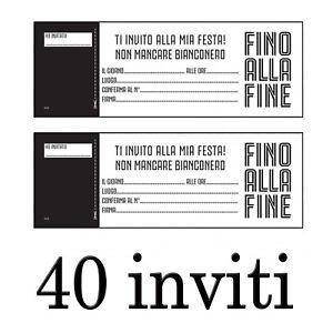 Detalles De Juventus Invitaciones Fiestas Cumpleaños 40 Invitaciones Para La Navidad
