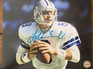 Troy-Aikman-Dallas-Cowboys-Autographed-Signed-8x10-Photo-COA