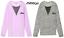 Victoria/'s Secret Pink Campus Mesh LS Tee Shirt Purple Petal Tiger Gray M NIP