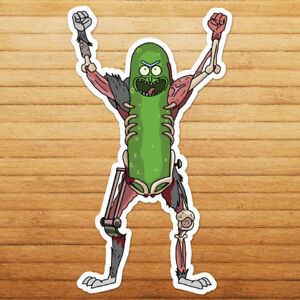 Rick-and-Morty-Rat-Suit-Pickle-Sanchez-Car-Die-Cut-Window-Vinyl-Decal-Sticker