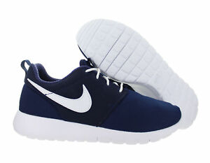 purchase cheap bf297 bfd72 NEW Nike Roshe One (GS) Youth Running Shoes Navy Blue and White 599728-
