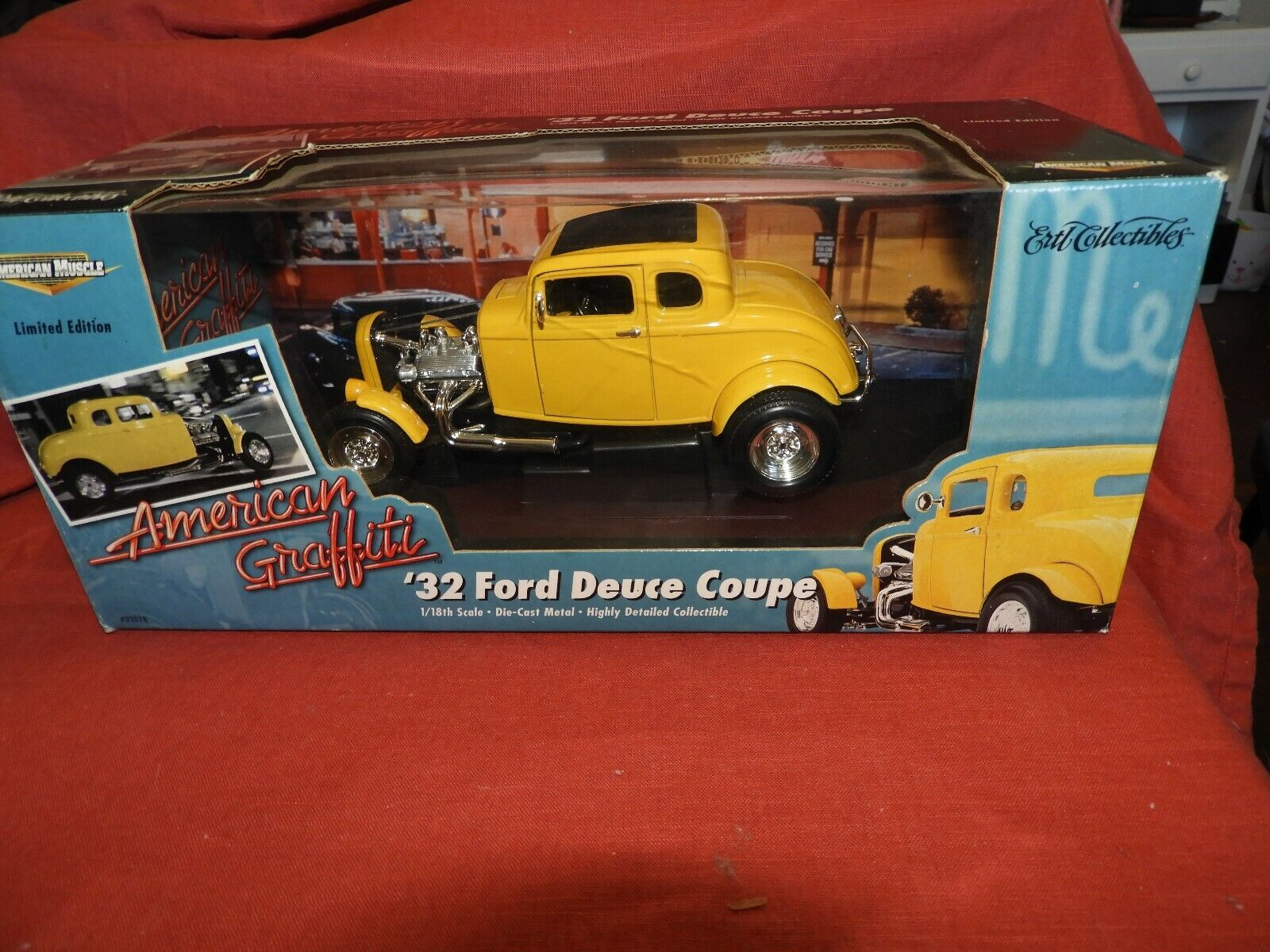 '32 Ford Deuce Coupe American Graffiti American Muscle 1 1 1 18th   Free Shipping a79e0c