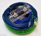 Voodoo Green 4 Gauge True AWG Amp amplifier install kit RCA speaker wire ANL fus