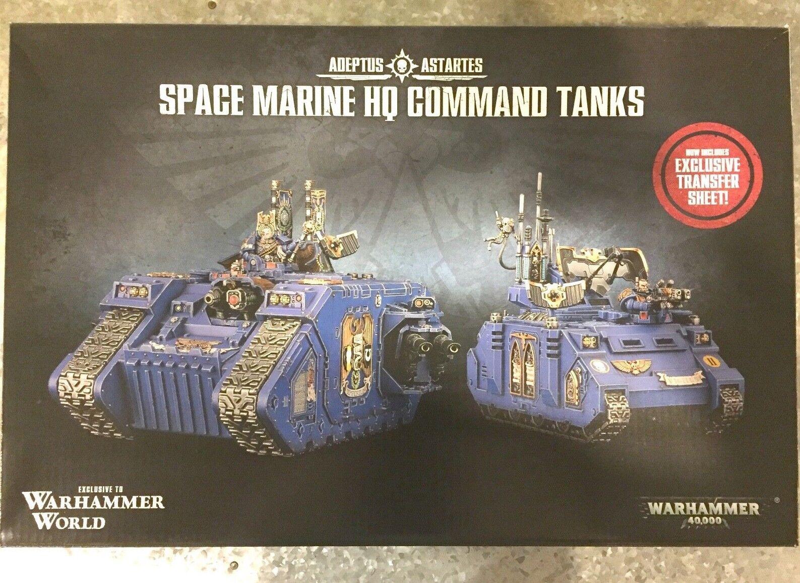 Obtén lo ultimo Fuera de paquete evento mundial espacio espacio espacio marino sólo Warhammer Land Raider Excelsior Rhino Primaris  solo para ti