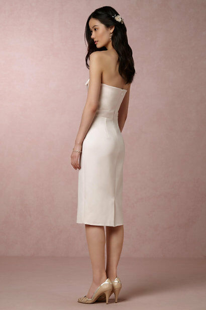 Brand NEW Cynthia Rowley BHLDN Exclusive Exclusive Exclusive Strapless Bow Lizzie Dress Size 4 6 47f4fb