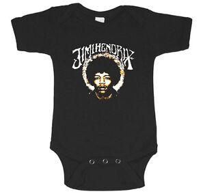 Jimi Hendrix Baby Tee Infant One Piece Newborn Baby T Shirt Cute