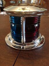 Antique Soup Can Bow Iight Polished Nickel Plated Bronze Garwood Hacker Boat