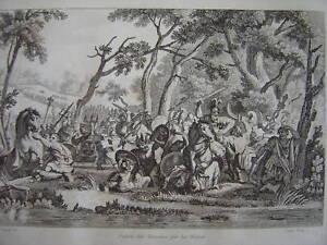 Gravure Défaite des Romains par les Francs - France - Période: XIXme et avant - France