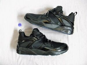 Details about Puma Blaze of Glory Trinomic Disc Meek Mill X DreamChasers  Black DS NEW sz 8 ad5477ce5