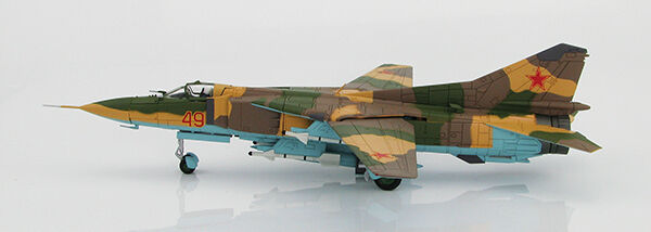 HOBBY MASTER 1/72 HA5303 MIG-23MS Flogger FIGHTER rosso 49 Test & Eval Sqn USAF