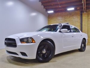2014 Dodge Charger 3.6L V6 Police, Blue Lightbar, Partition Conso