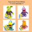 Jim-Henson-039-s-Pajanimals-Plush-SMALL-Stuffed-Animal-Apollo-Squacky-SweatPea-Cow thumbnail 1