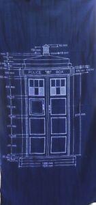 Doctor-Who-Tardis-Beach-Towel-FREE-POSTAGE