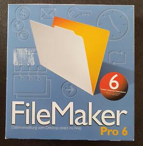 FileMaker Pro 6- Deutsch - für Windows und Mac OS