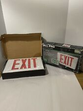 2all Pro Exit Emergency Light Hardwired Exit Sign Led Light 2 Color