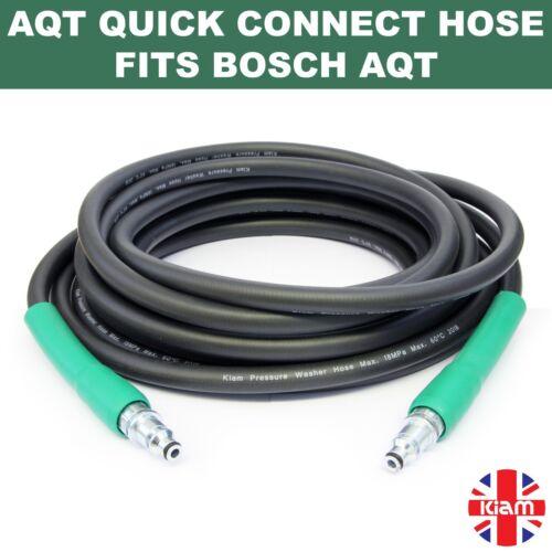 quick connect fittings 8m Bosch AQT Pressure Washer HOSE Universal Aquatak 130