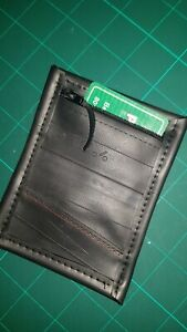 elegante Form riesige Auswahl an meistverkauft Details zu Geldbeutel / Geldbörse EC Karten Etui aus Fahrradschlauch  Upcycling