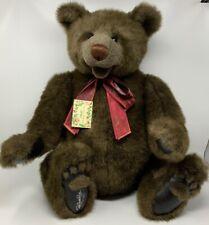 Gund Bears Signature Collection SASBEARILLA Signed RITA SWEDLIN RAIFFE 152/500