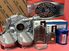 YCP B20 84mm STD HighComp Pistons + Rings+Bearing+Oil Pump+Oil Filter Kit Honda