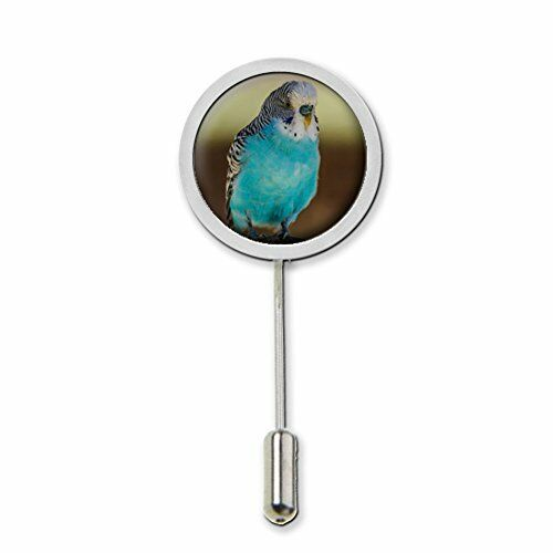 Budgerigar Stick Pin Tie Pin Badge With Protector Ideal Birthday Gift c299