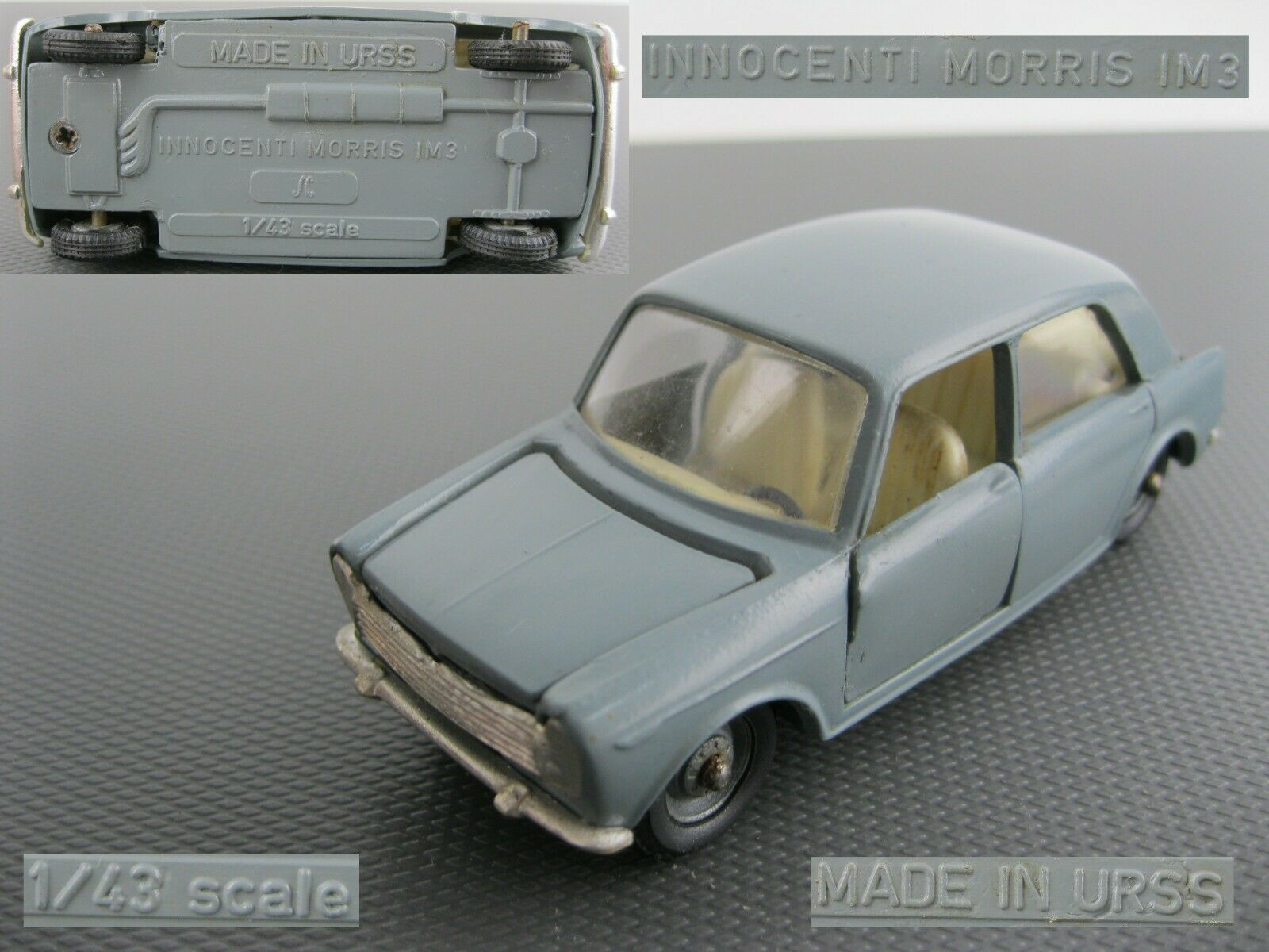 Car INNOCENTI MORRIS IM3 diecast metal model 1 43 Soviet Russian made in USSR
